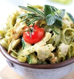Pasta dish side dishes