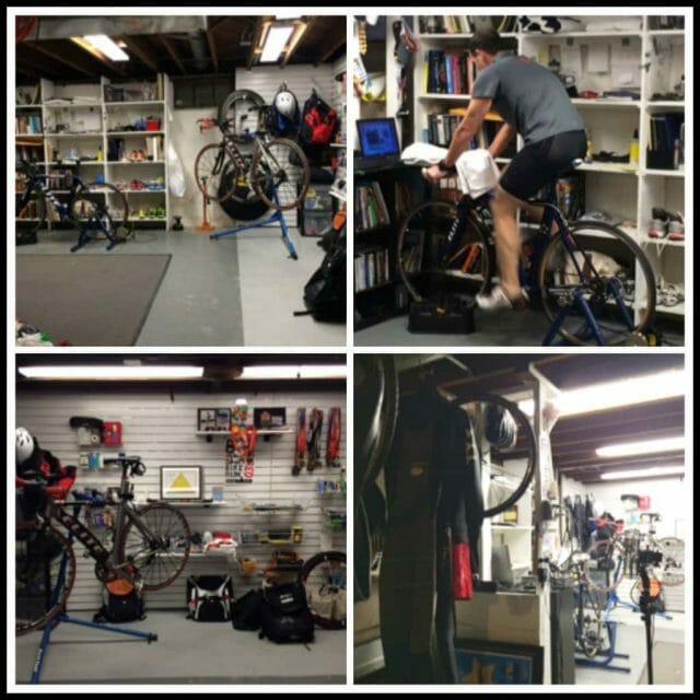 triathlon training space