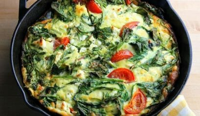 vegetable frittata for Meatless Monday Recipes