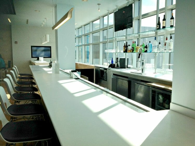 is the airspace lounge a nice lounge