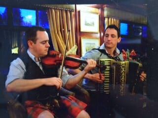 entertainment aboard the royal scotsman