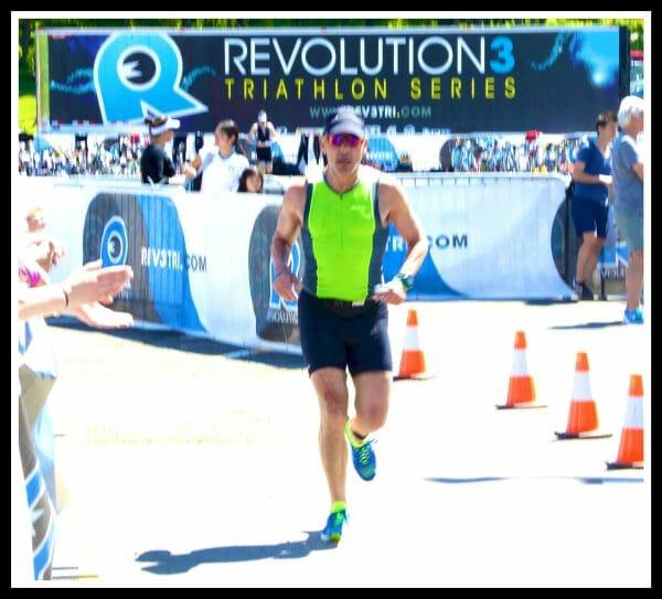 Carl off on the run at Rev3 Quassy 2014.