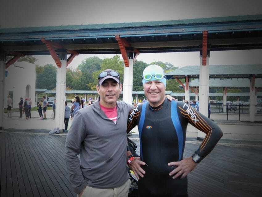 the character of a triathlete