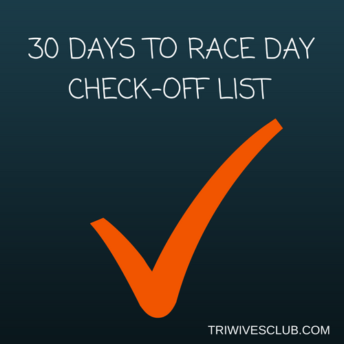 30 DAYS TO RACE-3