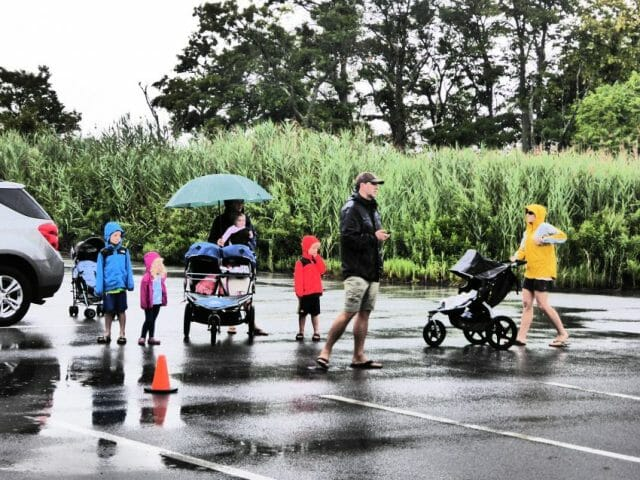 triathlons - tips when traveling with kids in tow