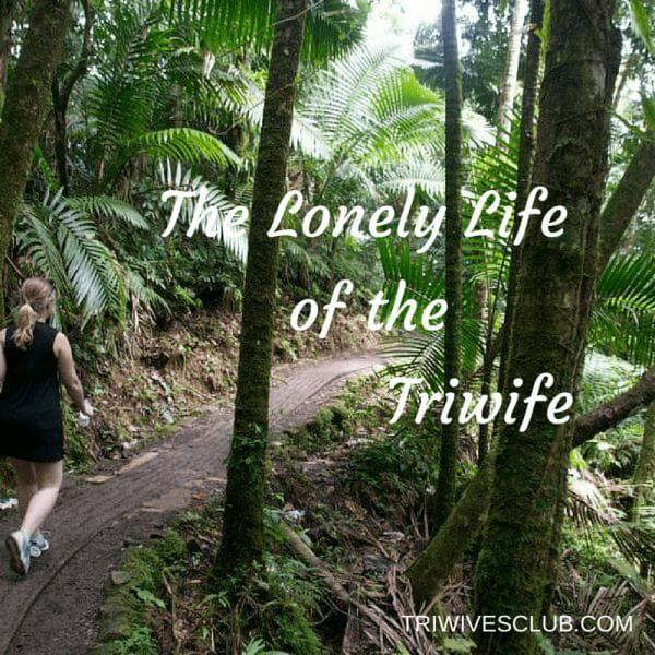 Being the wife/partner of a triathlete comes with a lot of alone time. So, we came up with creative solutions for THE LONELY LIFE OF THE TRIWIFE AT HOME.