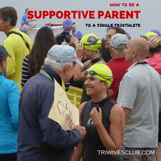 HOW TO BE A SUPPORTIVE PARENT TO A TRIATHLETE