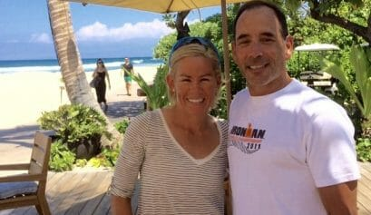 is body image affected by having a triathlete as a partner