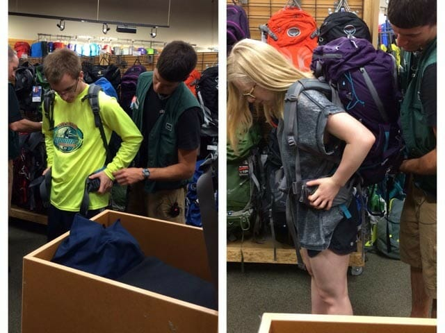 teens traveling solo with their backpacks ready to go