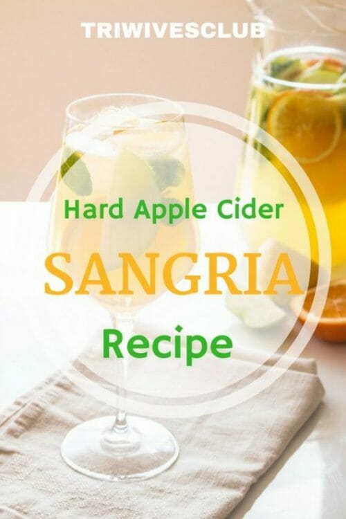what are the ingredients in a hard apple cider sangria recipe