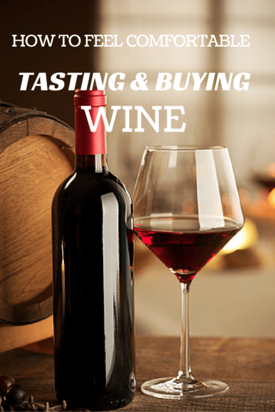tasting and buying wine