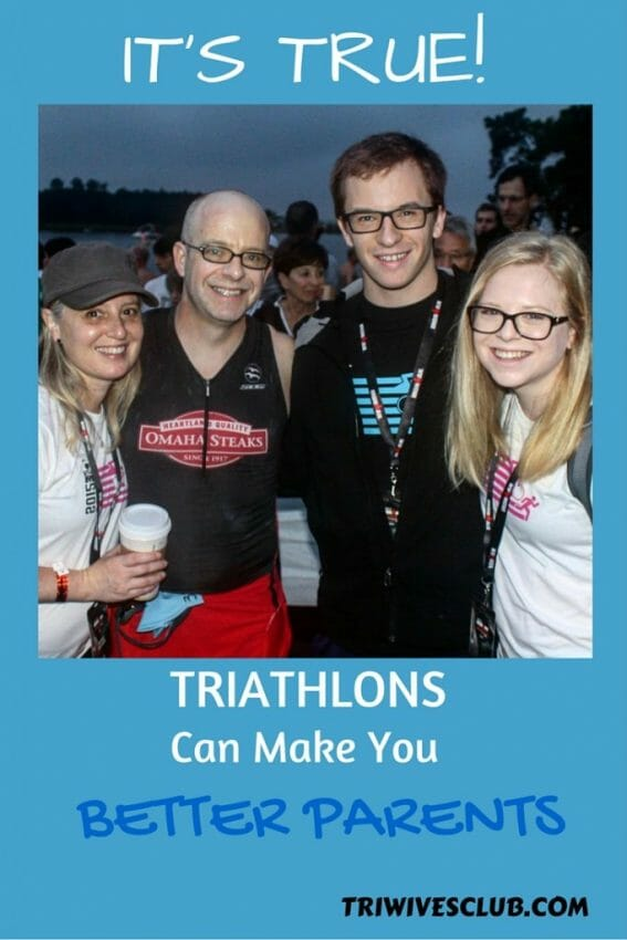 how triathlons can make you better parents