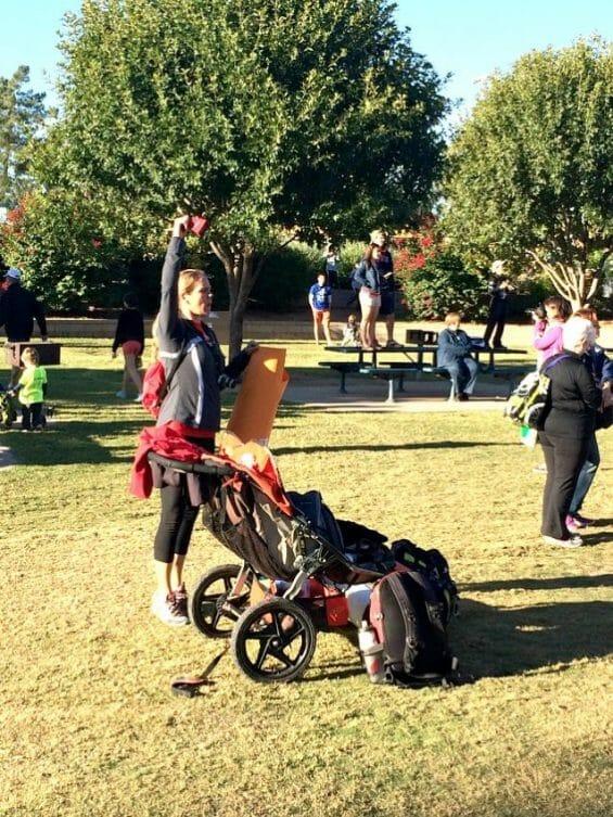 choosing a triathlon race with kids in tow like Ironman Arizona