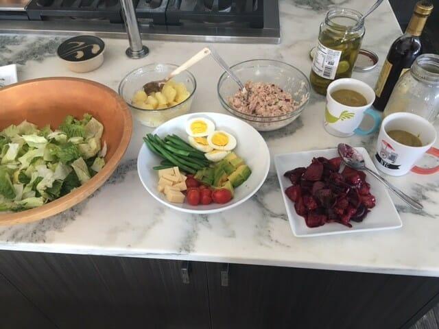 easy salad nicoise RECIPE