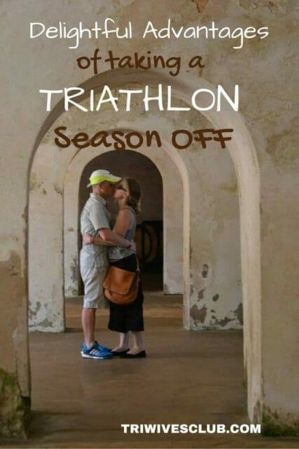 taking a triathlon season off