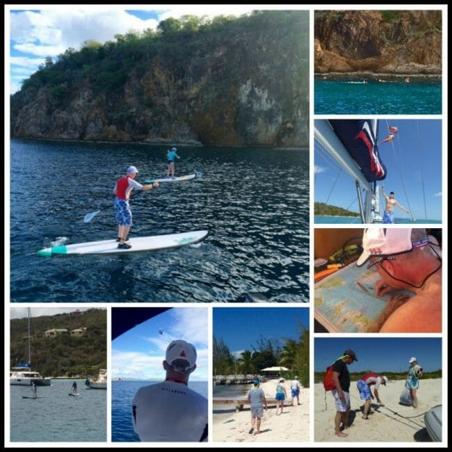 triathlete workouts while on vacation