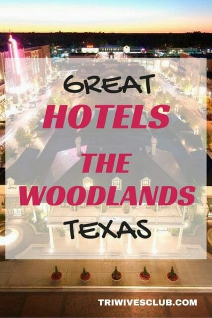 What are hotels to stay at for ironman texas at the woodlands