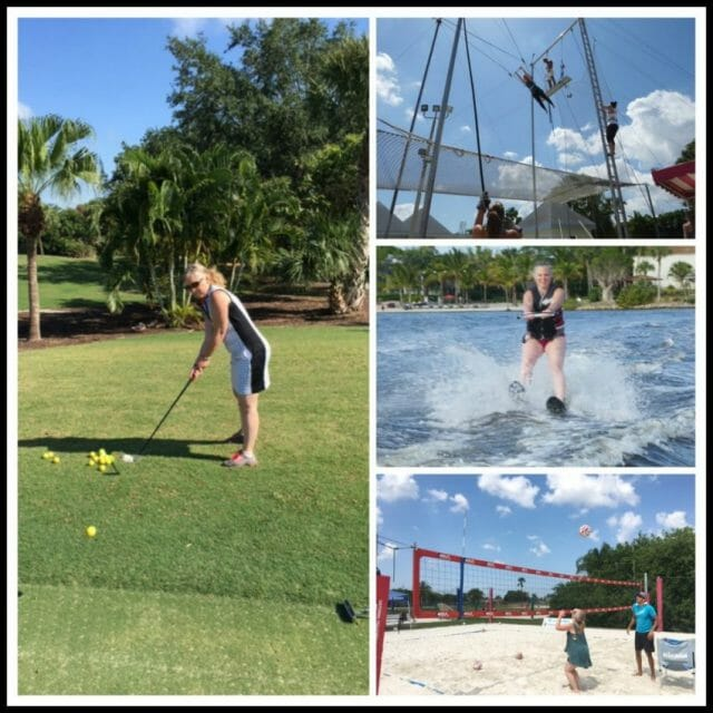 what activities are available at club med sandpiper bay resort