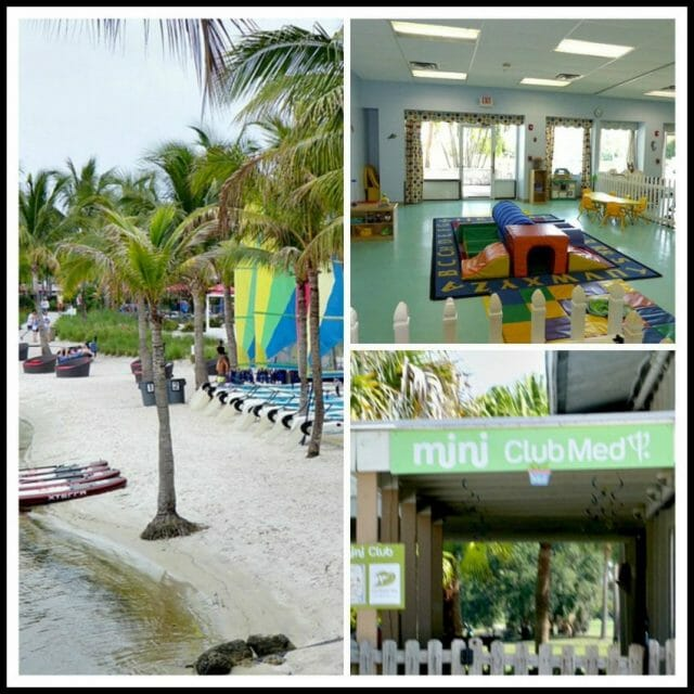 what's available for kids at club med sandpiper resort