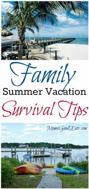 Tips to Survive a Family Summer Vacation