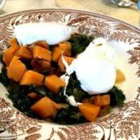 Kale and Sweet Potato Hash