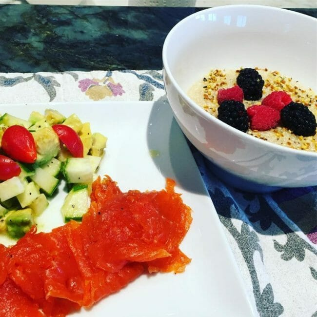 what to fuel a triathlete with gravlax