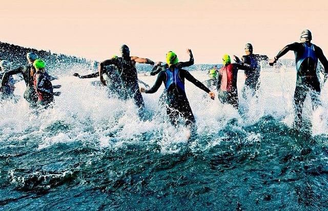 how best to spectate ironman boulder swim