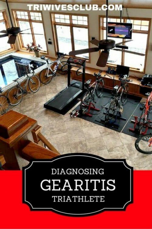 how do you diagnose triathlete gearitis