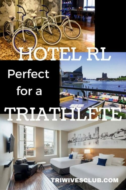 can triathletes be accommodated in a hotel rl