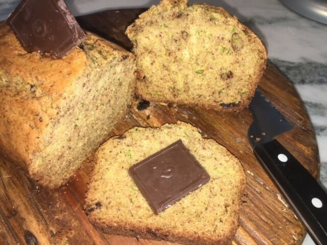 how to make a chocolate zucchini bread