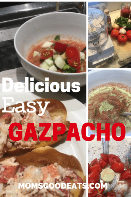 how to make an easy gazpacho soup