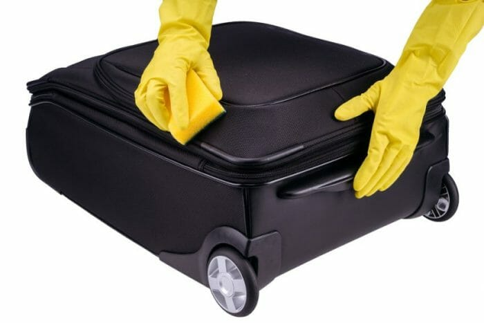 what are some tips for cleaning triathlete gear and luggage