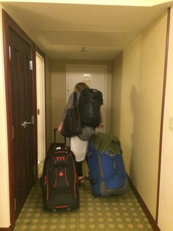 what's the best way to clean triathlete bags and luggage