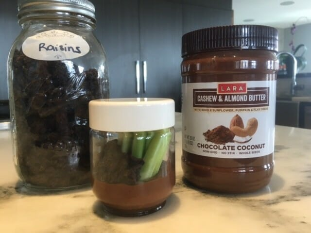 how do i make ants in a jar with lara nut butters