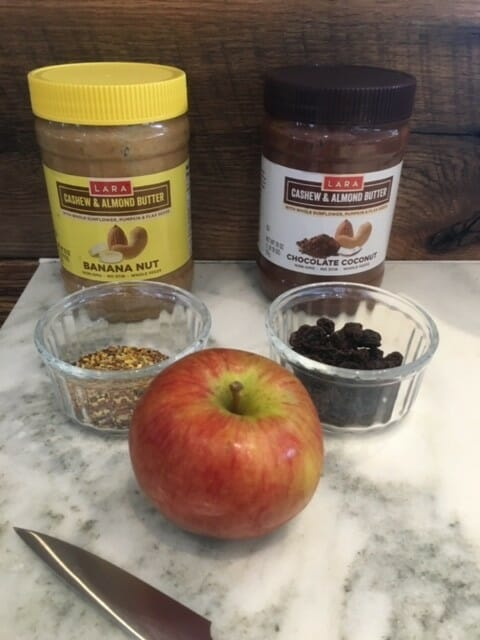 how can i use lara nut butters to make snacks