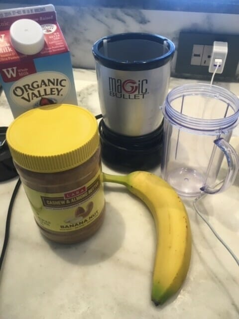 can I use LARA nut butters in a banana shake