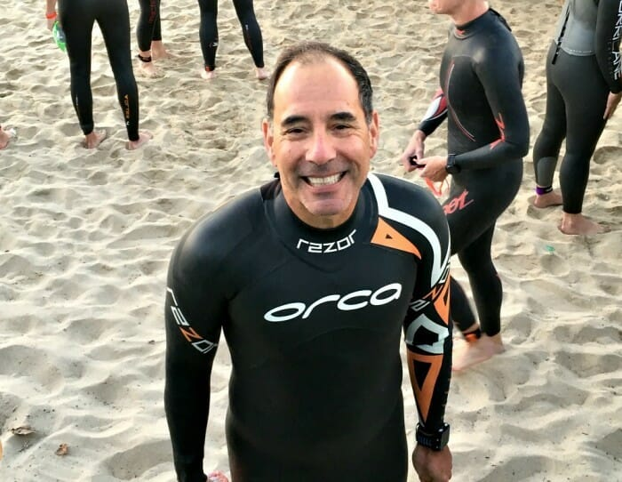 is a partner's body image affected by their triathlete