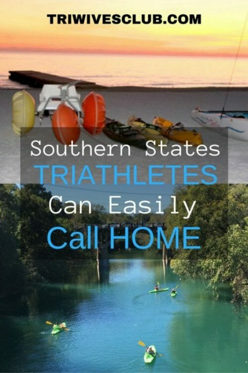 what are some southern states triathletes can call home