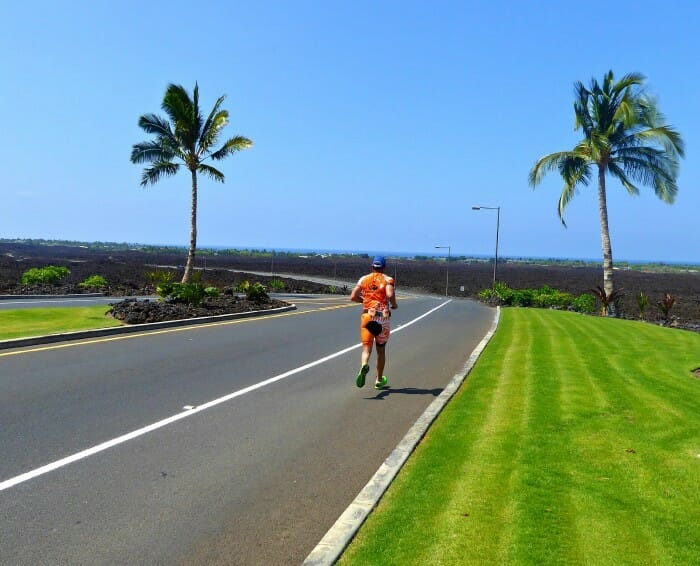 is kona one of the vacation spots for triathlon training and family fun