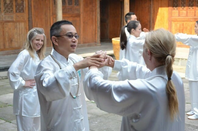 ways to learn a new skill on vacation like tai chi in China