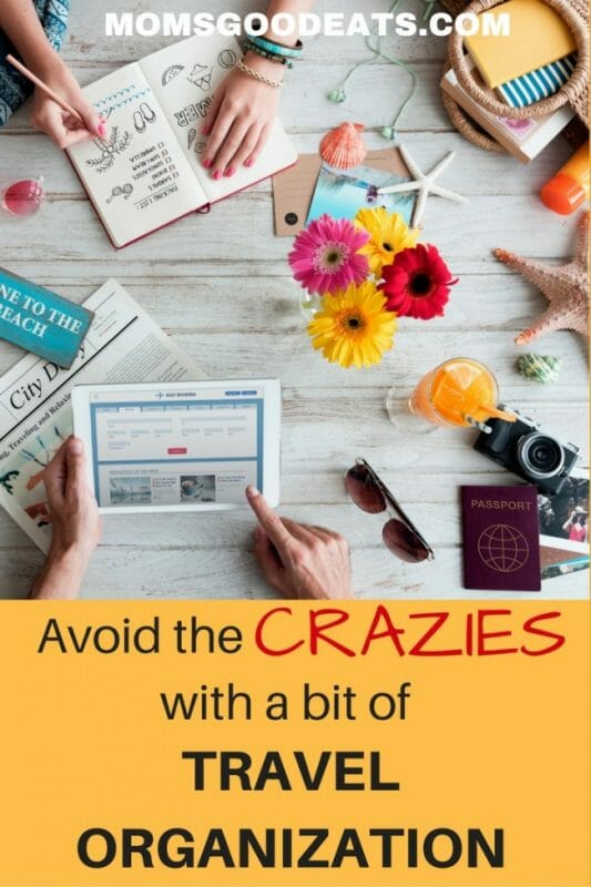 Check out some tips to keep yourself organized when you are traveling. Avoid the craziness!