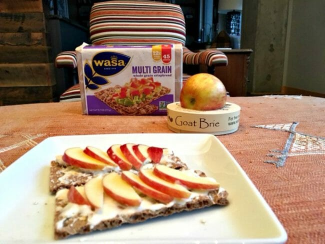 what goes good on a wasa crispbread for a perfect snack
