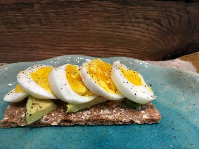 do eggs and avocado go well on wasa crispbread