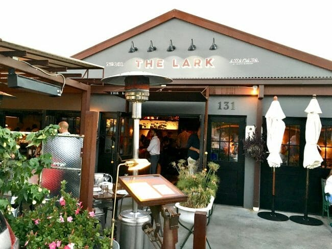 is the lark one of the favorite montecito santa barbara restaurants