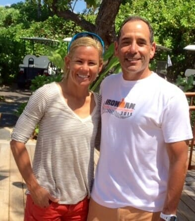 is body image affected for a triathlete's partner