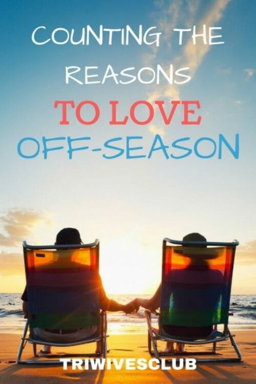 what are some of thew reasons to love off-season for a trisupporter