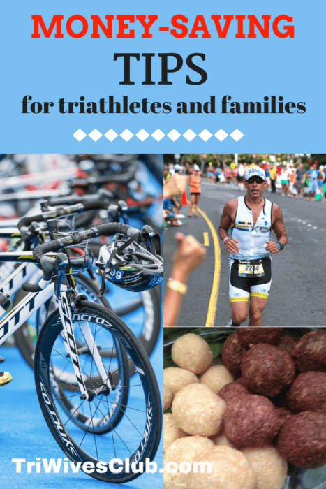 what are some money-saving tips for triathletes