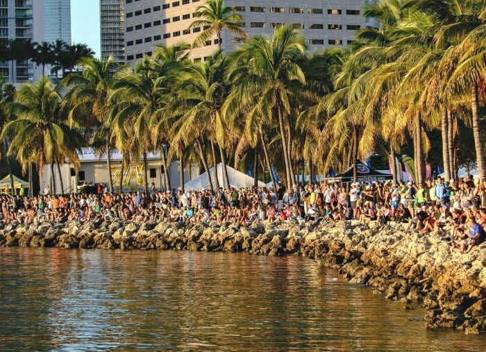 what are some don'ts for spectating a triathlon