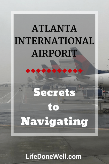 what are some tips for navigating atlanta airport