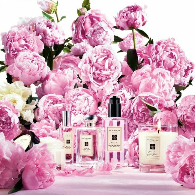 does jo malone make products with peonies